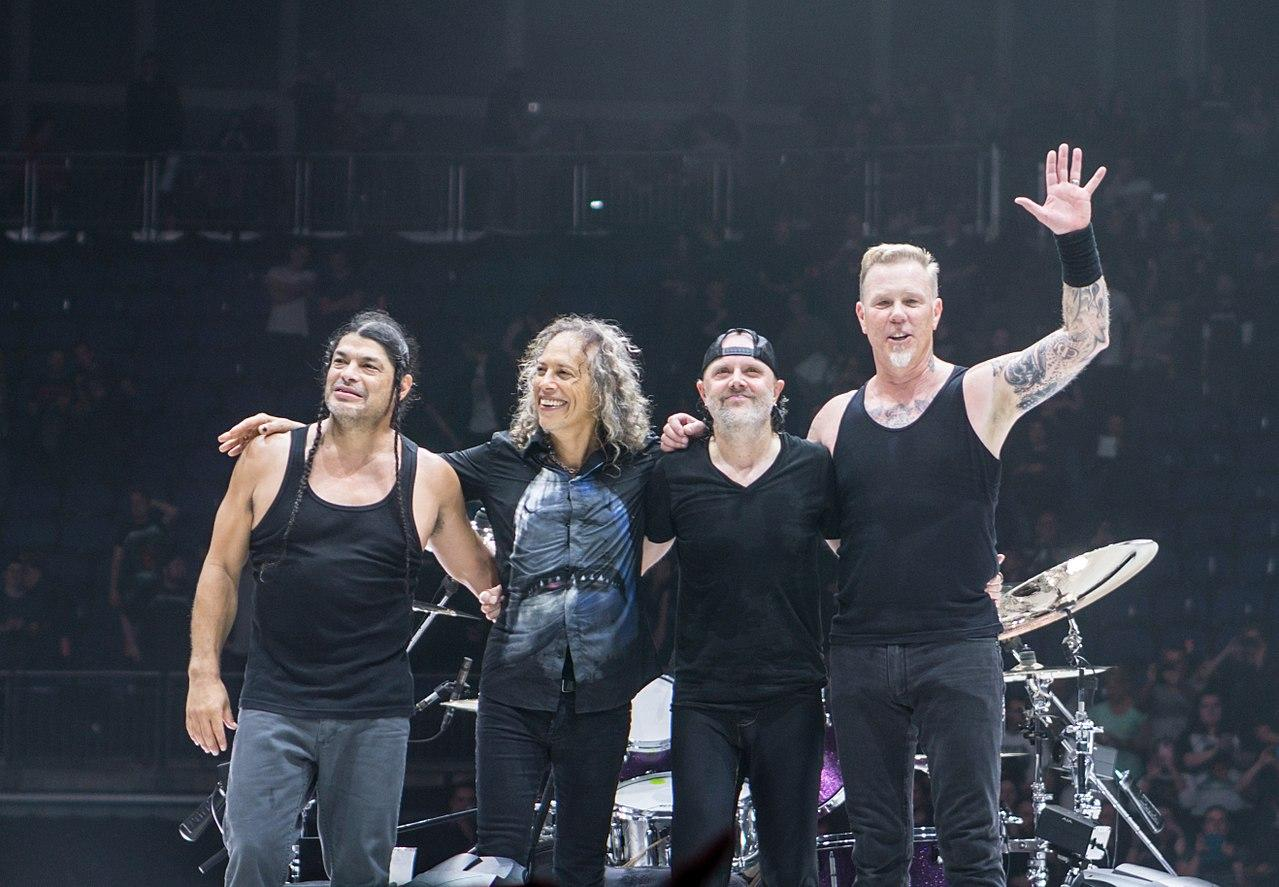 Metallica Offstage With DWP