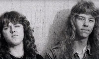 Lars Ulrich y James Hetfield