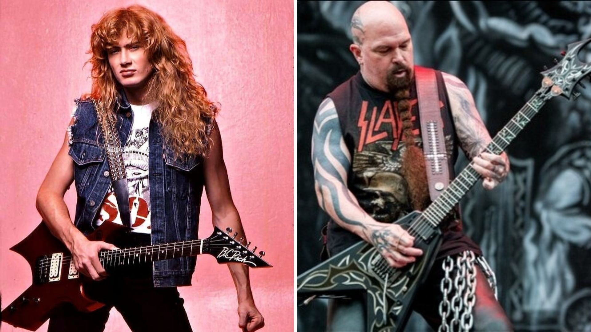 bc rich dave mustaine kerry king