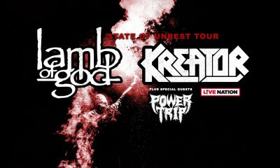 lamb of god kreator power trip