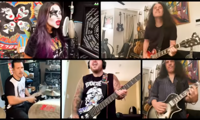 anthrax testament kiss cover