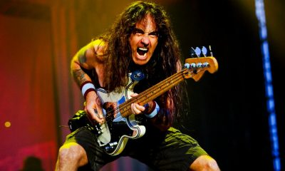 Steve Harris Bajo Iron Maiden