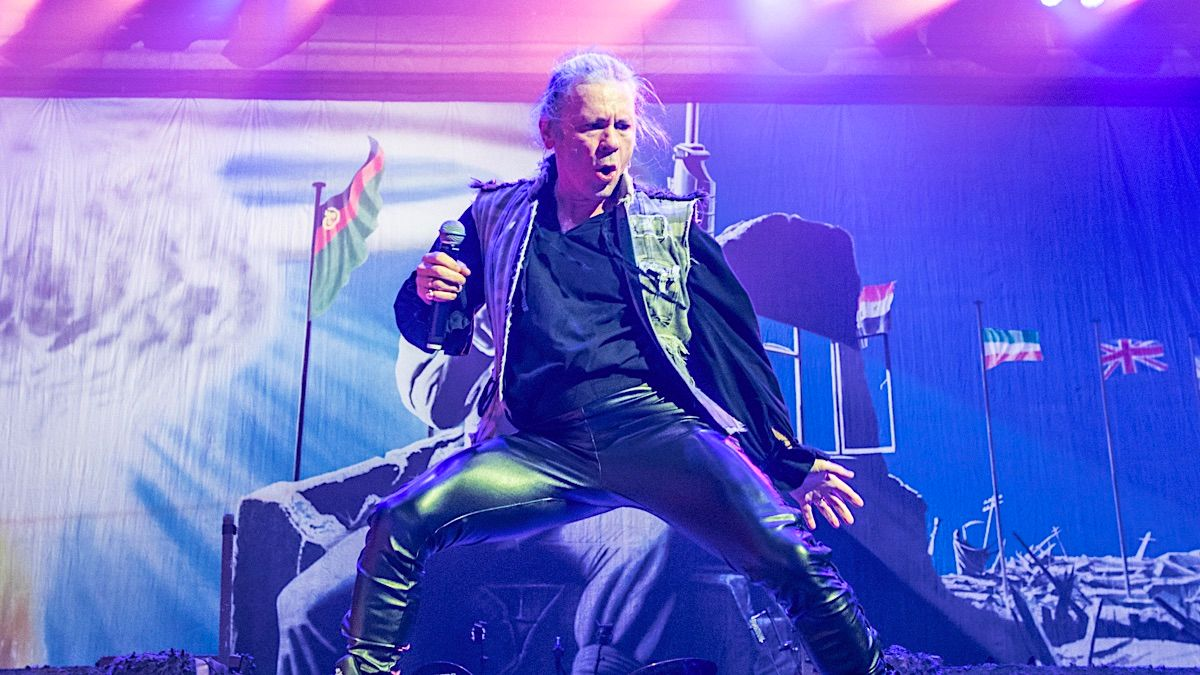 iron maiden en vivo 2020