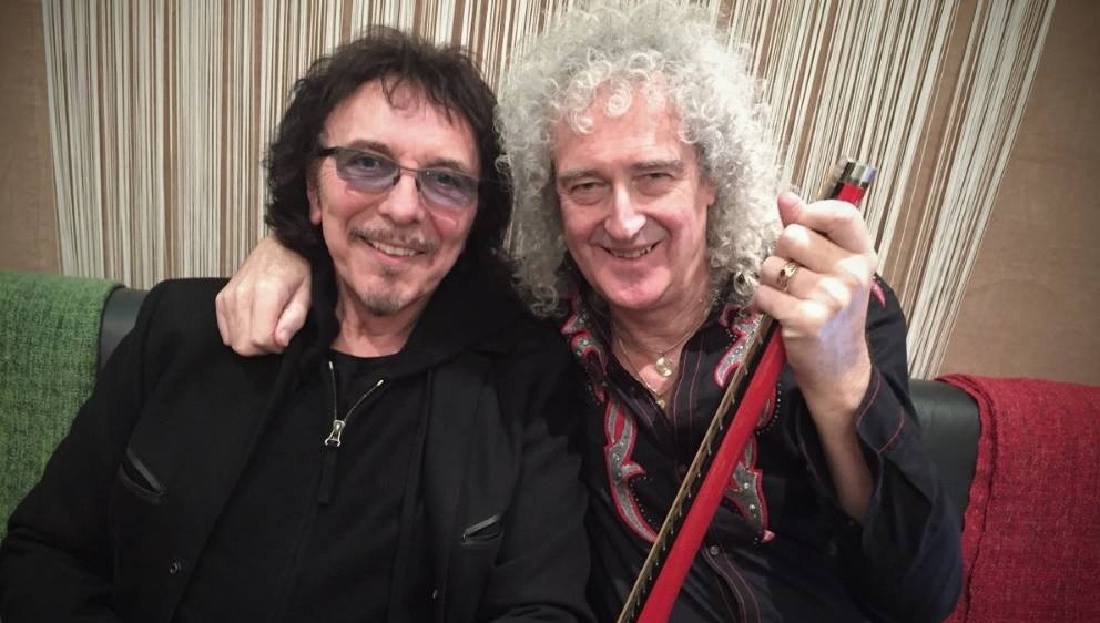 tony iommi padre heavy metal brian may