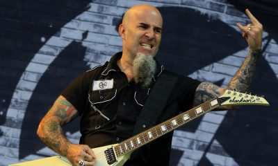 Scott Ian Anthrax Guitarra