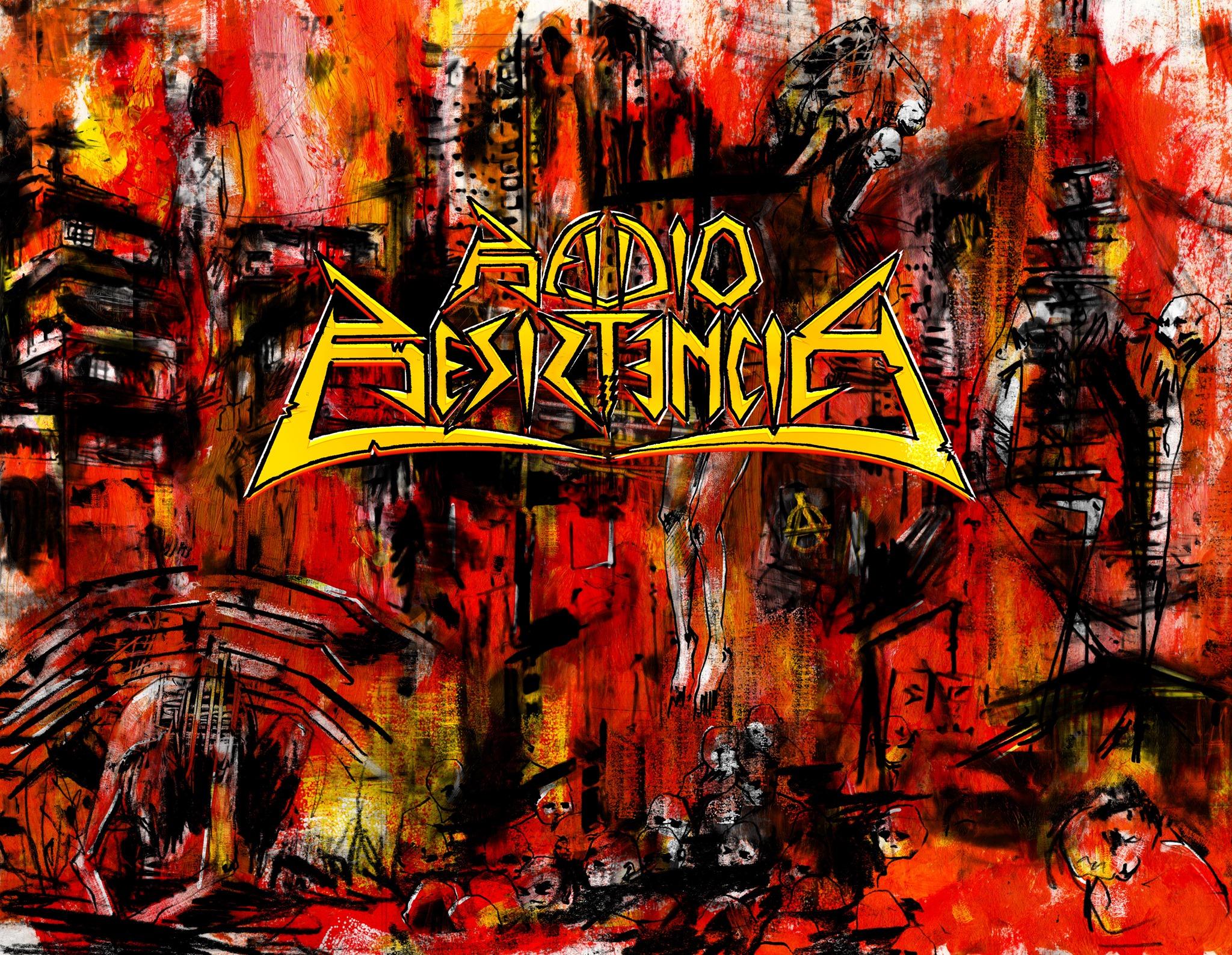 """Radio Resistencia, agrupación colombiana de Thrash Metal, publicó su primer single titulado """"bogothrash"""". (Foto: Radio Resistencia)."""