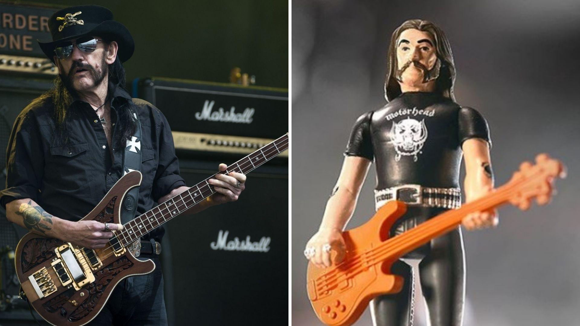Lemmy Kilmister figura acción