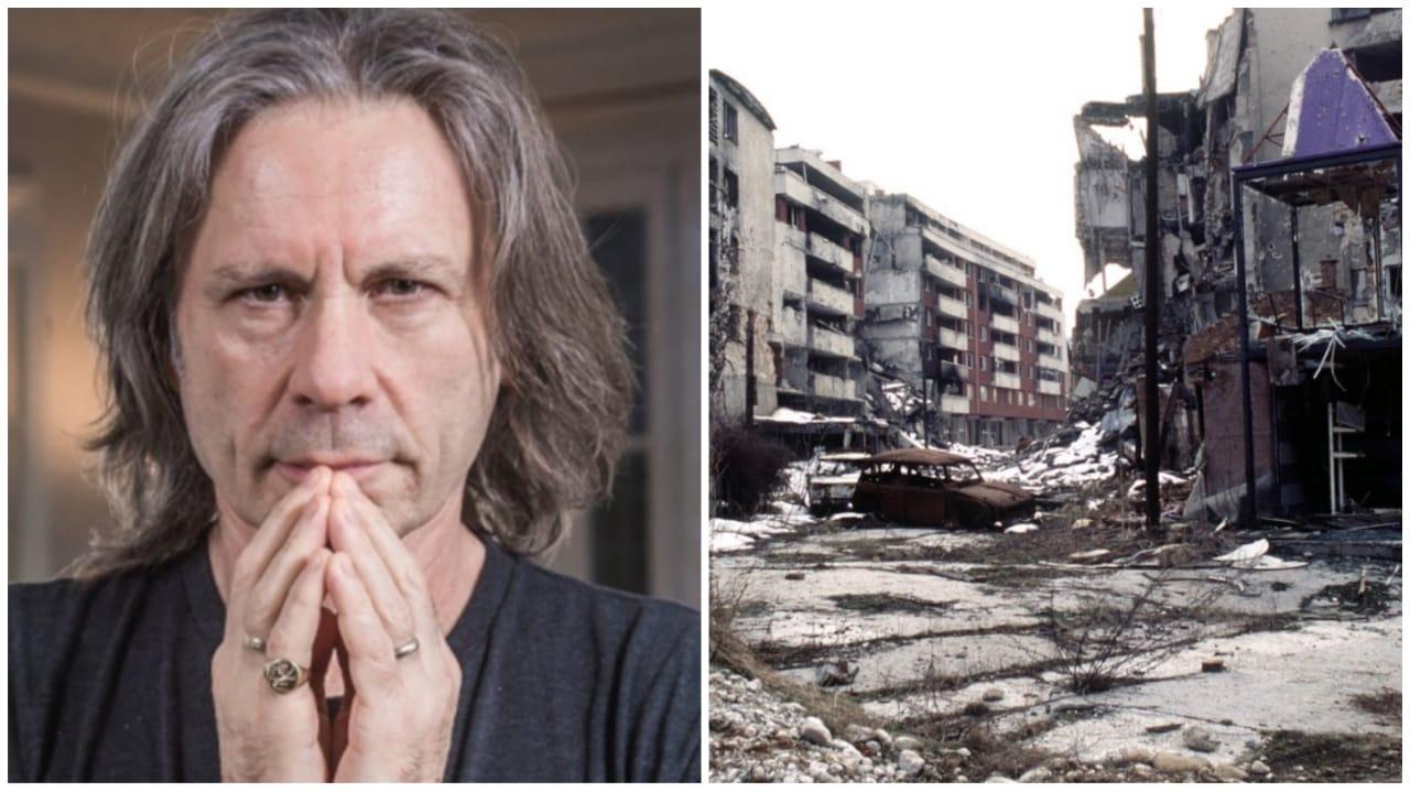 Iron Maiden guerra Sarajevo