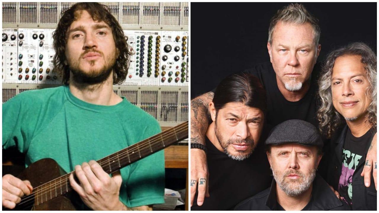 John Frusciante Metallica