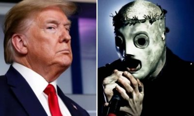donald trump slipknot