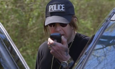ozzy osbourne policía
