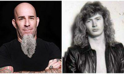 Scott Ian Mustaine Metallica