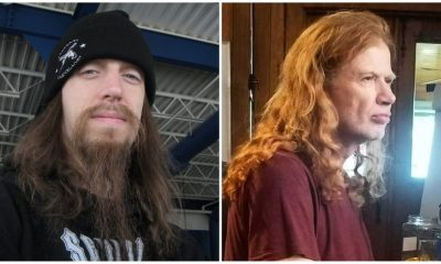 Baterista Megadeth Dave Mustaine