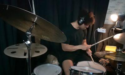 baterista jazz metal doble bombo