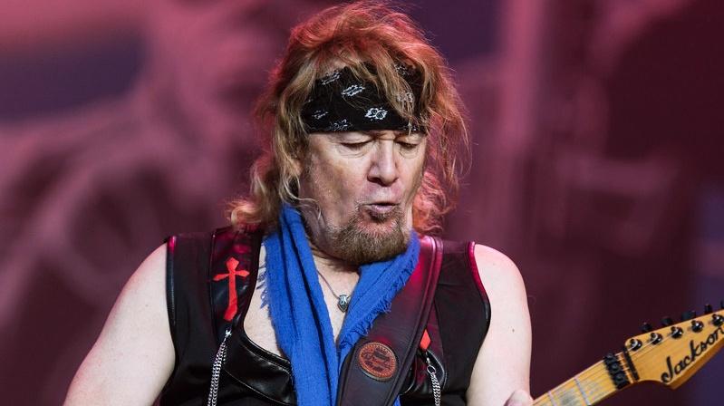Adrian Smith Iron Maiden