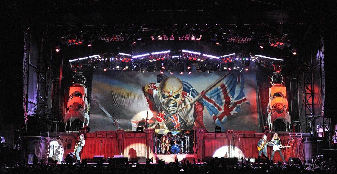 álbum Iron Maiden récords