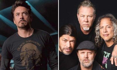 robert downey metallica