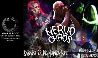 NervoChaos show Colombia
