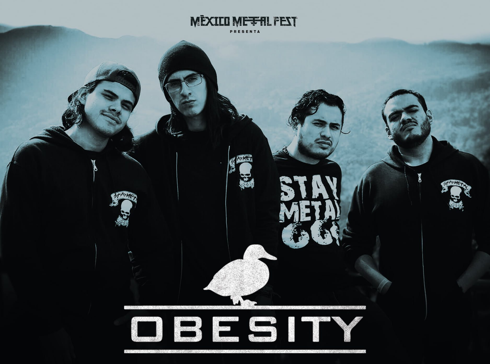 México Metal Fest Obesity Streaming