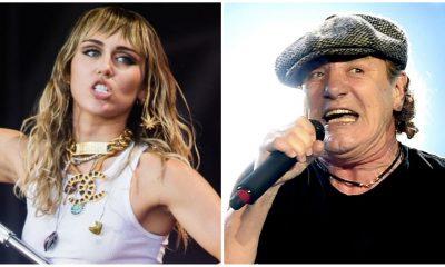 Miley Cyrus AC/DC Rock