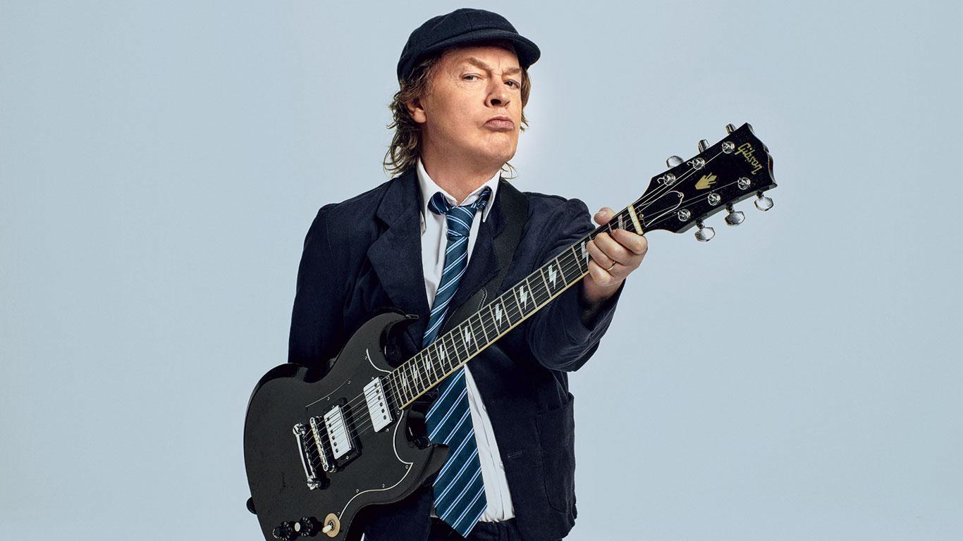 Angus Young sonido AC/DC
