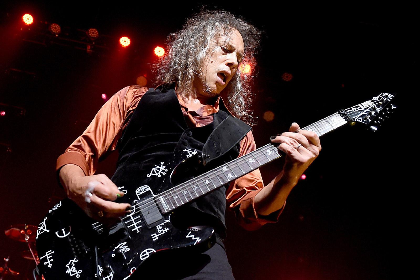 Kirk Hammett Enter Sandman