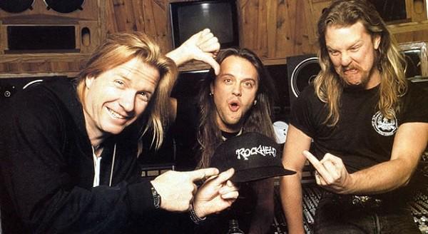 Bob rock Metallica derechos