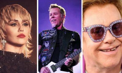 Miley Cyrus cover Metallica elton john