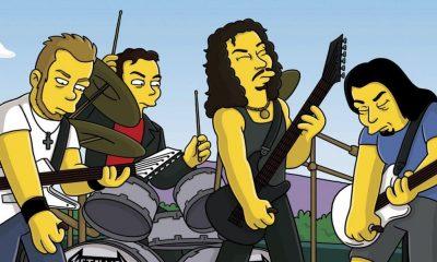 Kirk Hammett Los Simpsons
