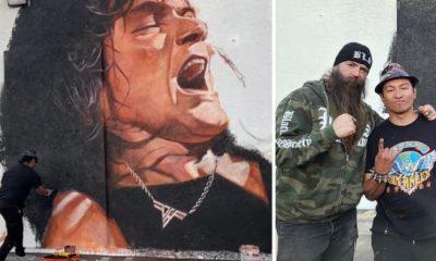 van halen mural
