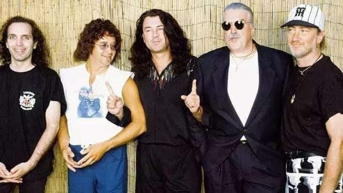 Joe Satriani junto a Deep Purple