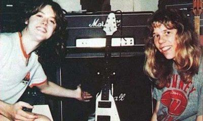 Lars Ulrich y James Hetfield
