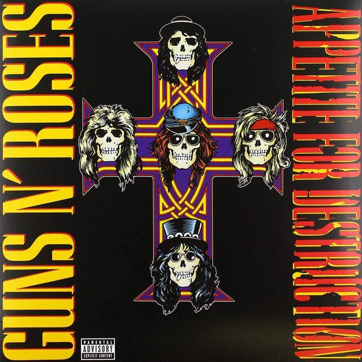 """Reseña: Guns N' Roses - """"Appetite For Destruction"""" (1987)"""