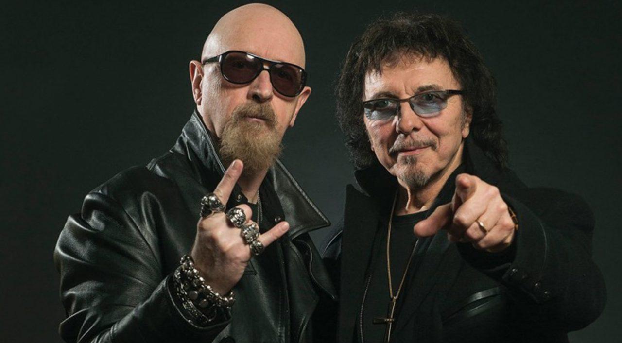 Rob Halford con Black Sabbath