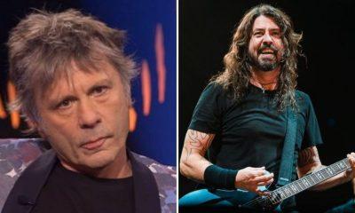 Foo Fighters Iron Maiden Salón Fama Rock Roll