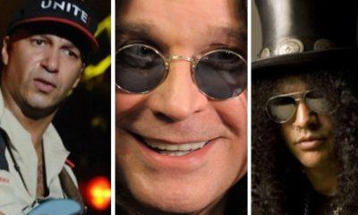 Ozzy Osbourne Slash Tom Morello