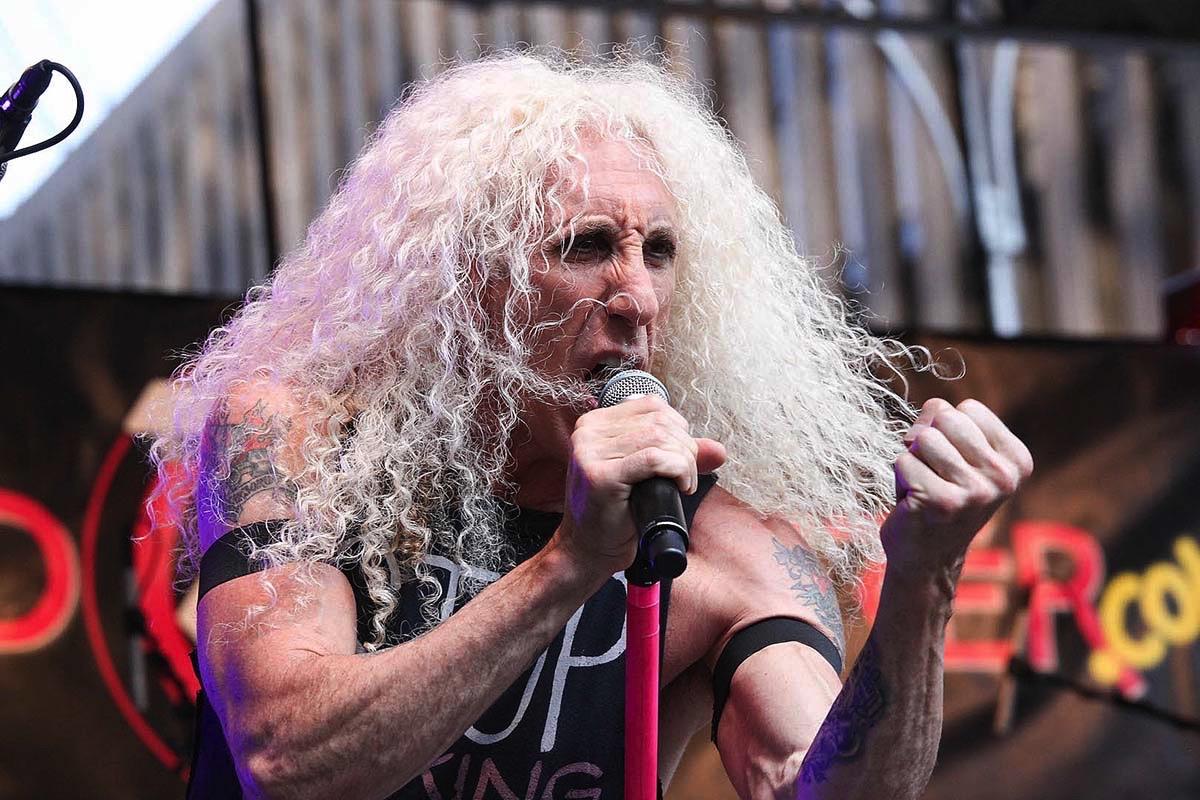 Dee Snider salón fama rock