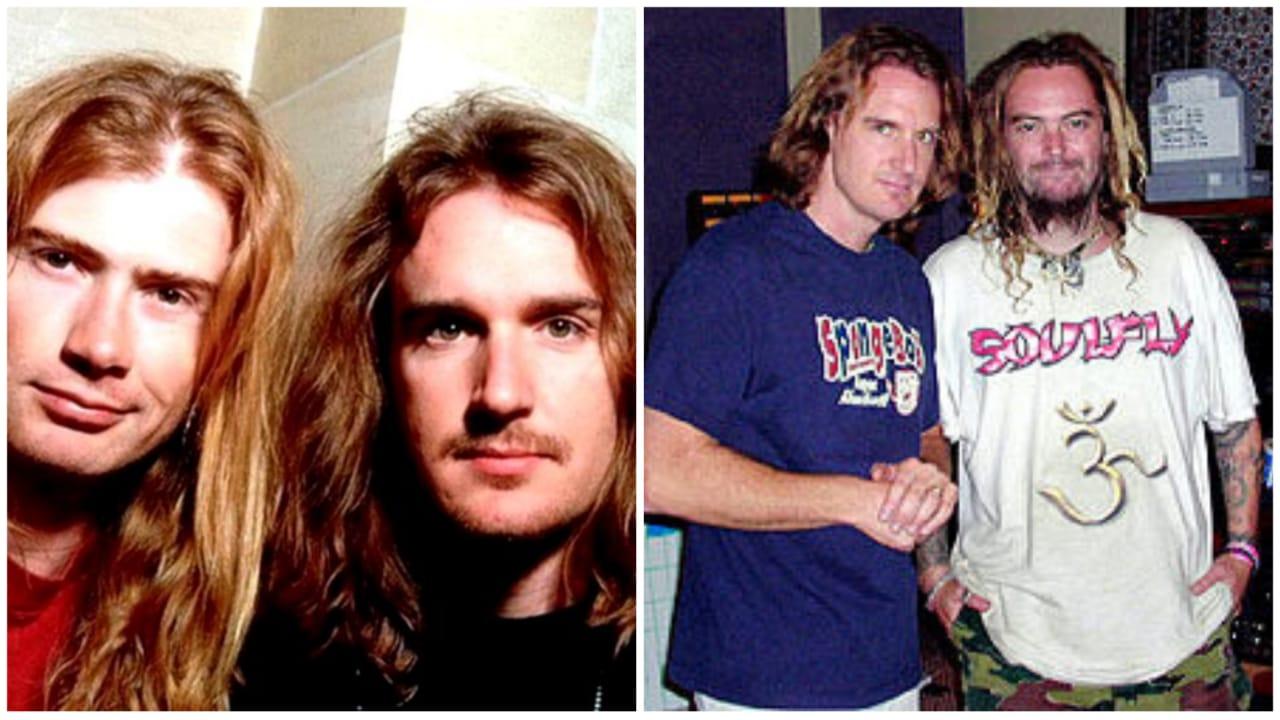 David Ellefson Cavalera Mustaine