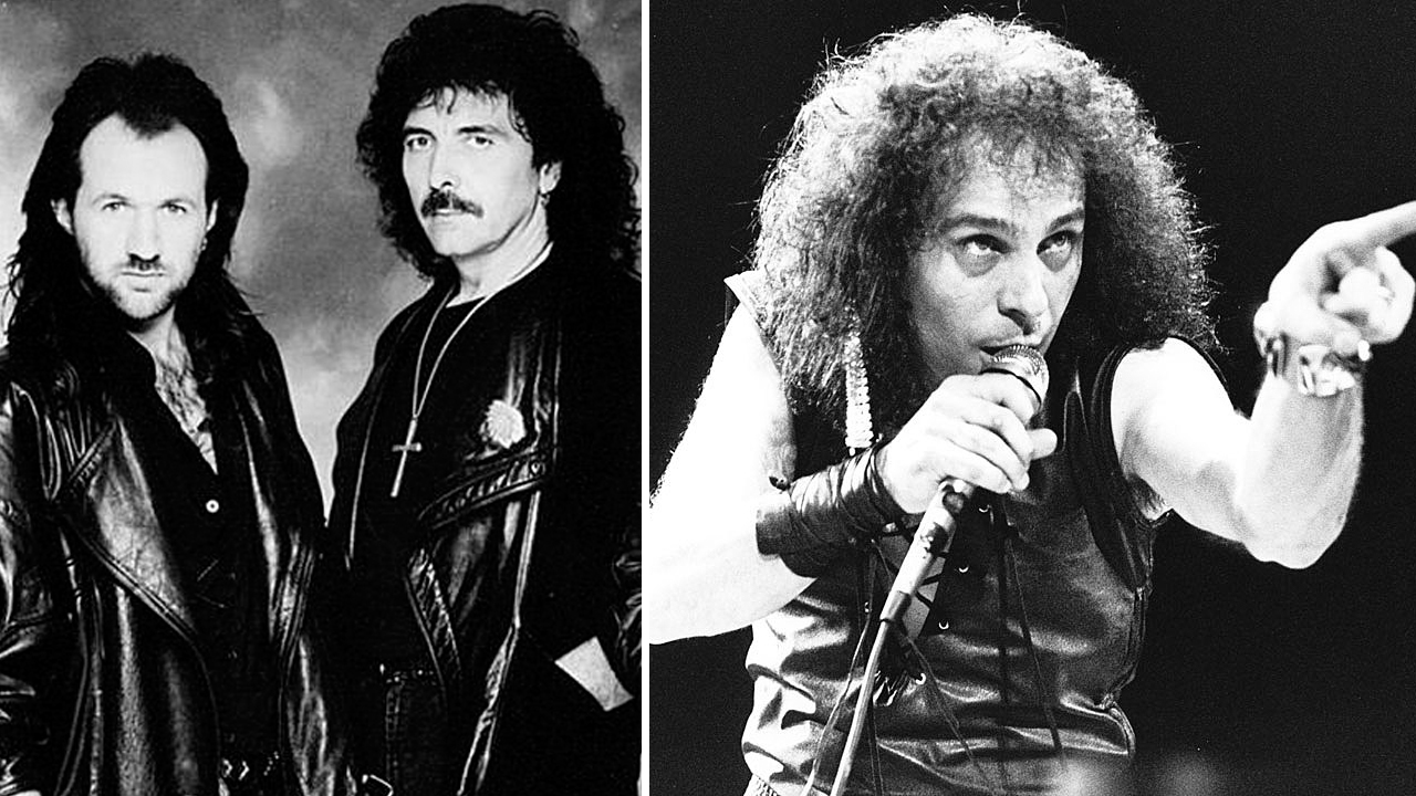 ronnie james dio tony martin