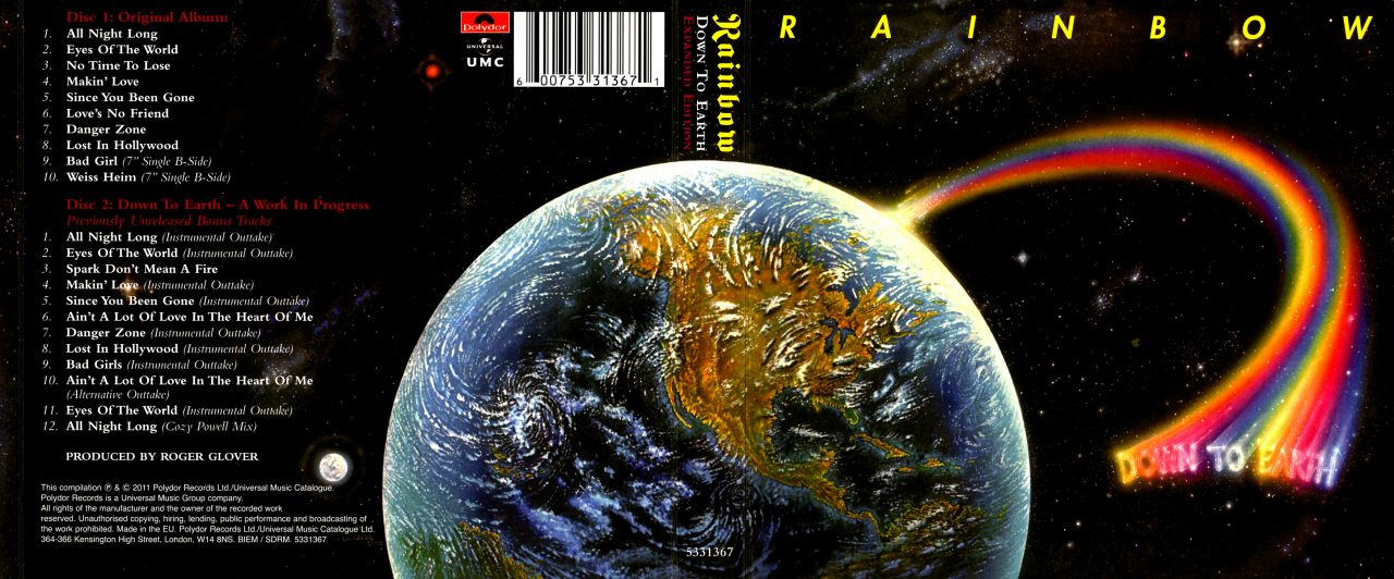 "Reseña: Rainbow - ""Down To Earth"" (1978)"