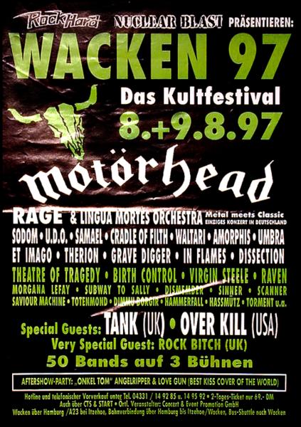 Wacken 1997