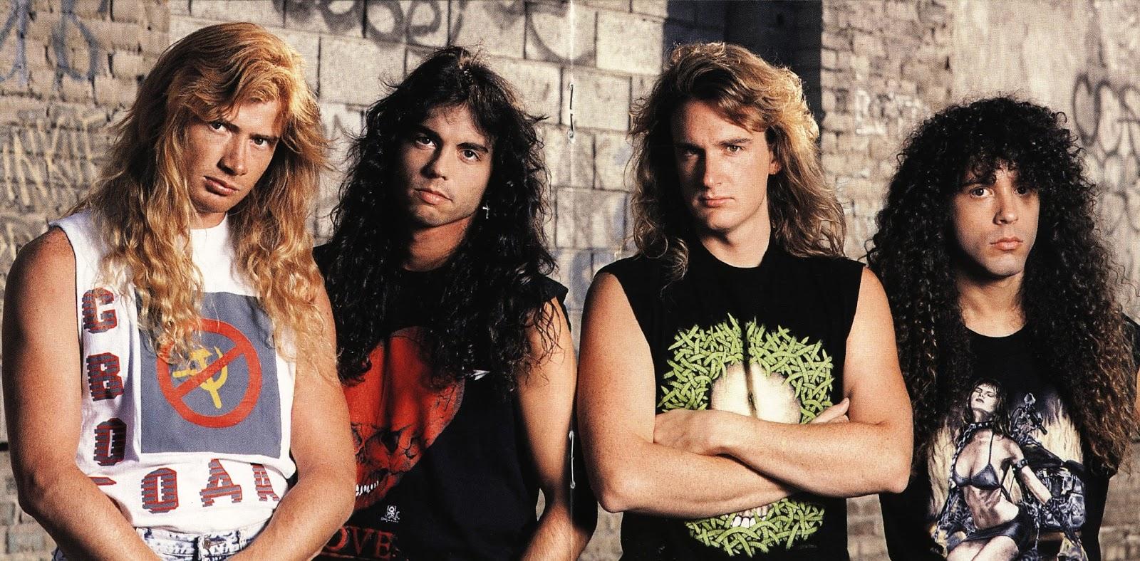 Megadeth formación clásica