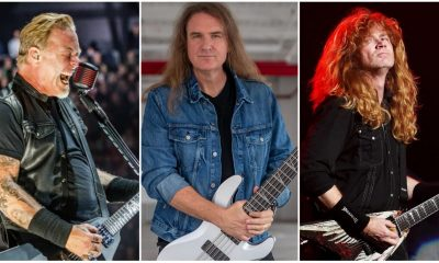 David Ellefson James Hetfield