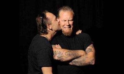 dueño jefe Metallica Lars Ulrich James Hetfield