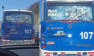 iron maidne bus