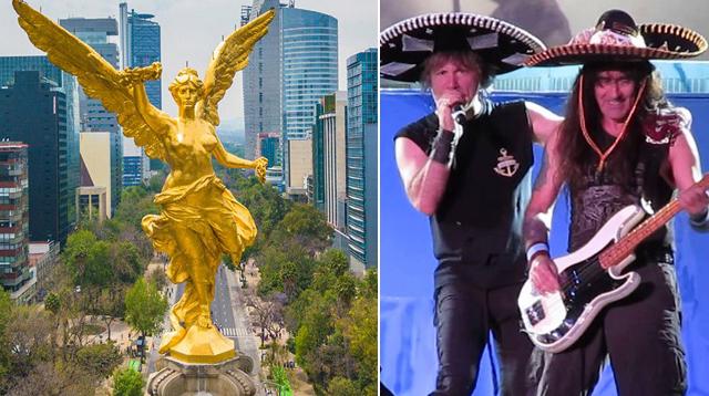 iron maiden ciudad de mexico