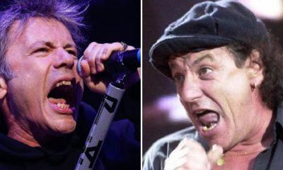 Iron Maiden Brian Johnson