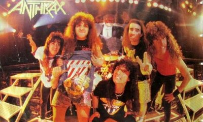 anthrax 40 años