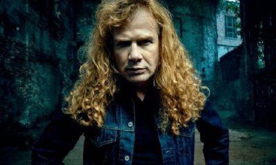 Dave Mustaine caramelizar disco Megadeth