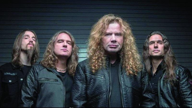 Megadeth libro colorear